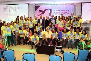 A comitiva sergipana chamou a atenção por sua alegria e interação