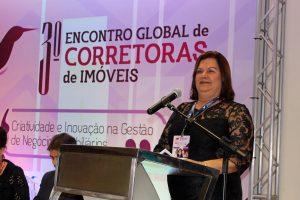Fátima Sobral, diretora administrativa do Creci-SE e vice-presidente da Integração Feminina, coordenou o evento