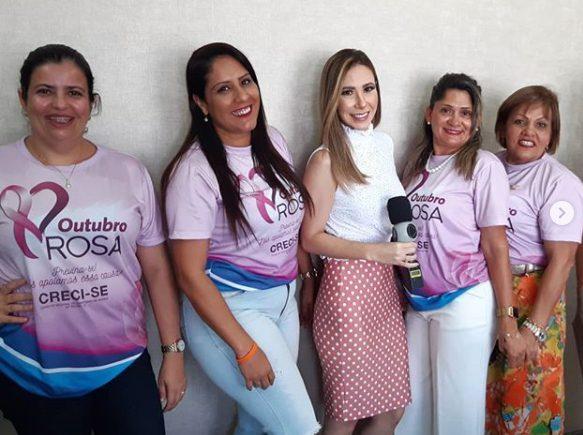 Outubro Rosa – O Creci Sergipe sempre abraçou essa campanha.