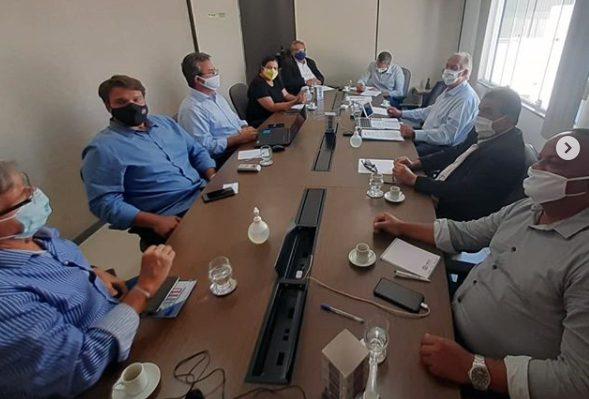Reunião da Diretoria Executiva do Conselho. Desta vez, de forma presencial.