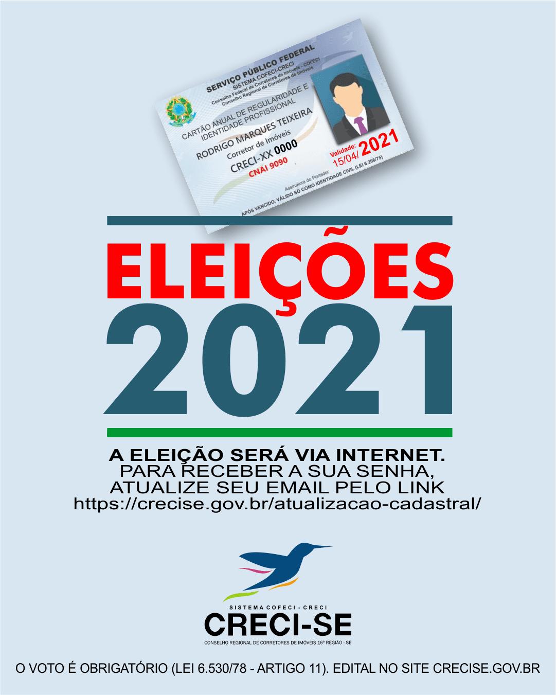 ELEIÇÕES SISTEMA COFECI-CRECI 2021